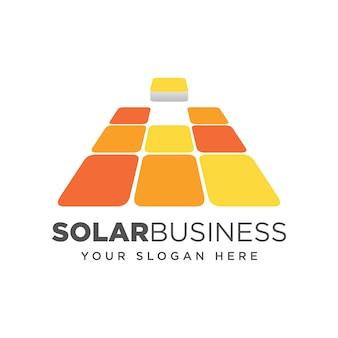Conceito de design de tecnologia de painel solar