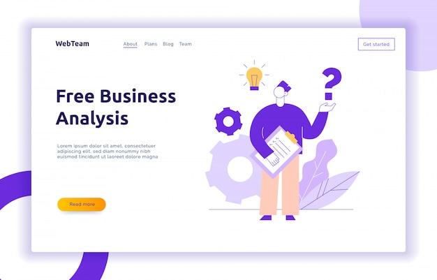 Conceito de design de trabalho em equipe e ideia de negócio