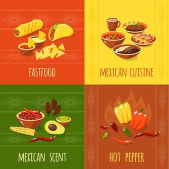 Conceito de design mexicano
