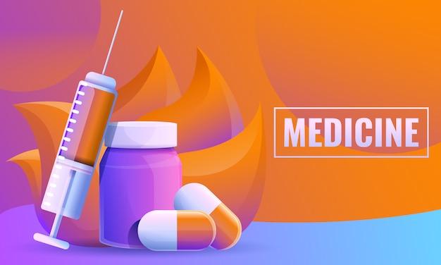 Conceito de design sobre medicina