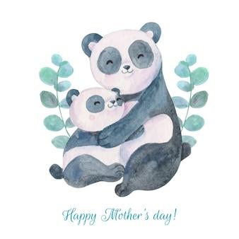 Conceito de dia das mães em aquarela
