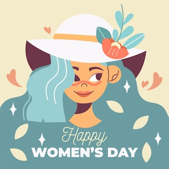 Conceito de dia das mulheres floral