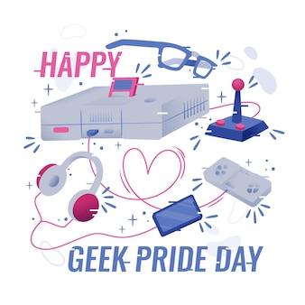 Conceito de dia de orgulho nerd
