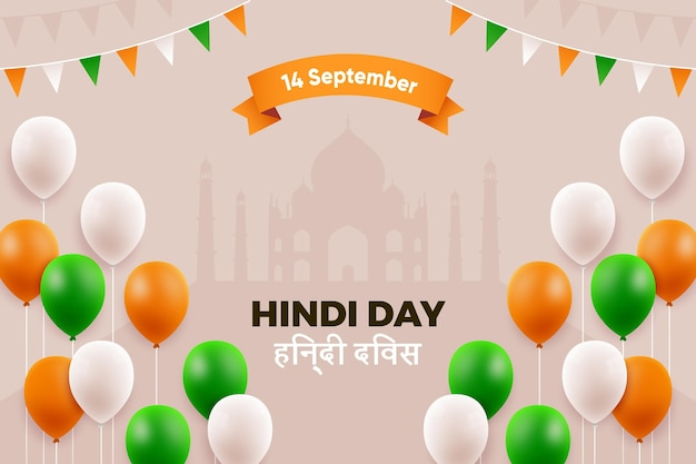 Conceito de dia hindi
