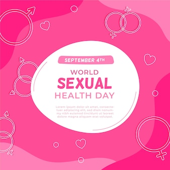 Conceito de dia mundial da saúde sexual