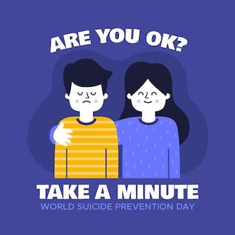 Conceito de dia mundial de prevenção do suicídio