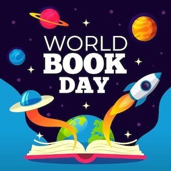 Conceito de dia mundial do livro