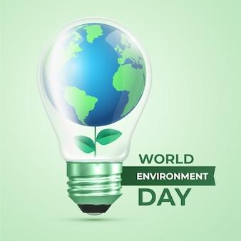 Conceito de dia mundial do meio ambiente realista