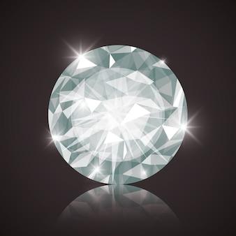 Conceito de diamante com design de ícone