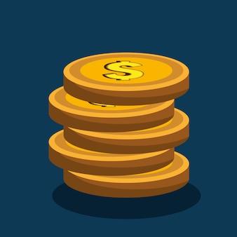 Conceito de dinheiro