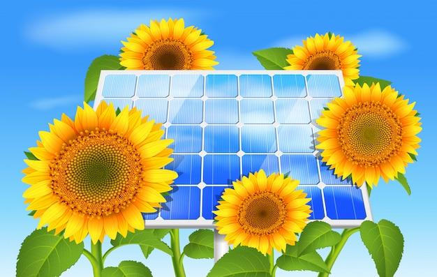Conceito de eco de energia verde