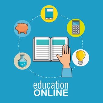 Conceito de educação e e-learning on-line