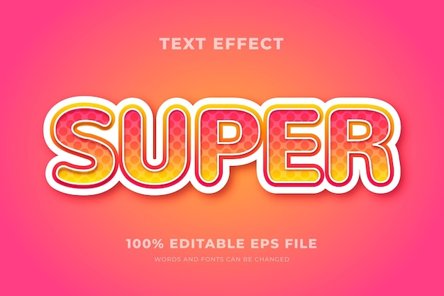Conceito de efeito de texto