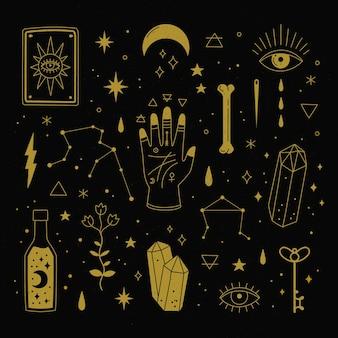 conceito de elementos esotéricos