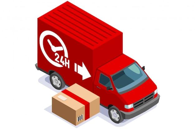 Conceito de entrega de comida expressa em casa