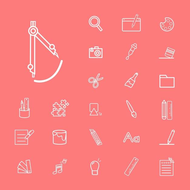 Conceito de estudo de escola de educação de ilustração de interface do usuário
