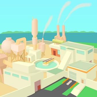 Conceito de fábrica industrial