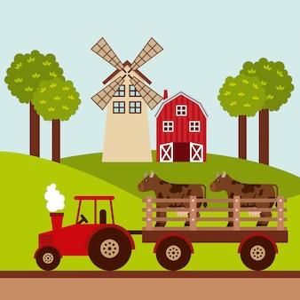 Conceito de fazenda