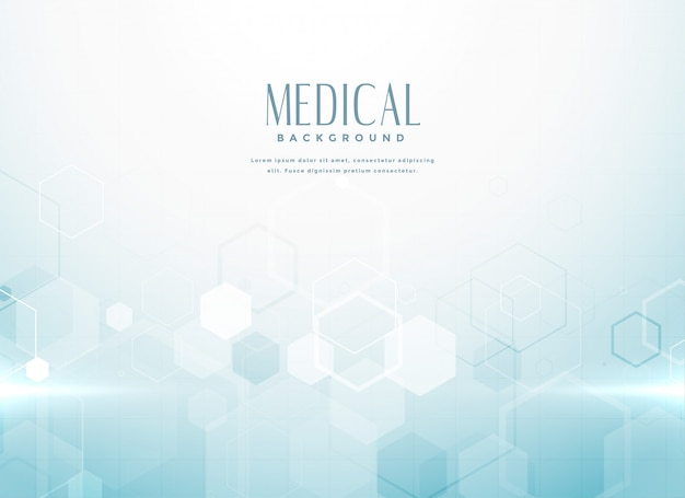 Conceito de fundo abstrato de ciência médica
