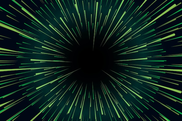Conceito de fundo de luzes de velocidade