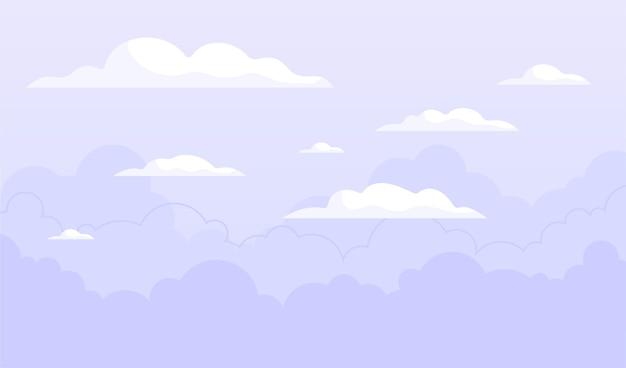 Conceito de fundo do céu
