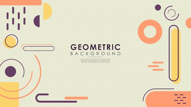 Conceito de fundo geométrico