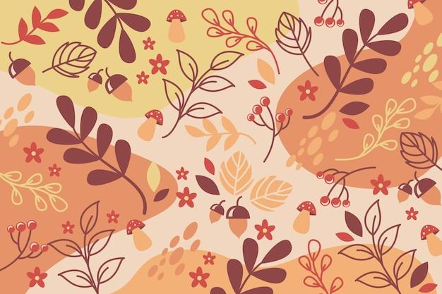Conceito de fundo outono