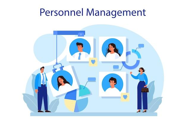 Conceito de gestão de pessoal