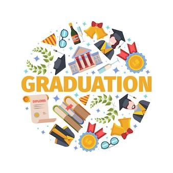 Conceito de graduação altamente antecipado