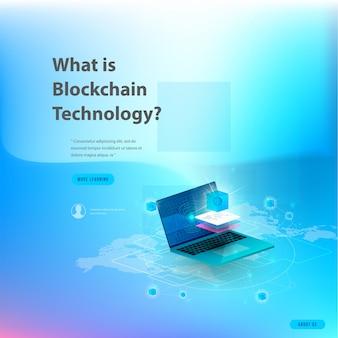 Conceito de grande processamento de dados, estação de energia do futuro, data center, cryptocurrency e blockchain