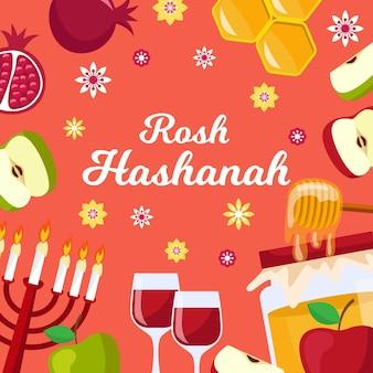 Conceito de hashá rosh plana