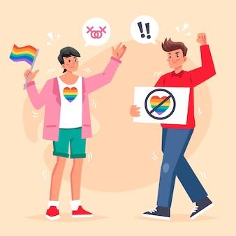 Conceito de homofobia