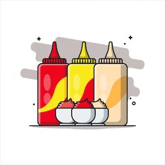 Conceito de ícone de bebida branco isolado