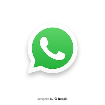 Conceito de ícone do whatsapp
