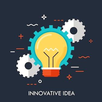 Conceito de idéia de inovação