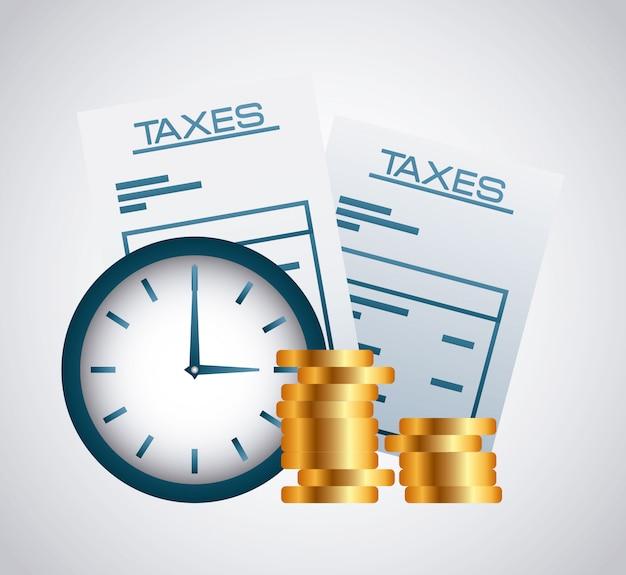 Conceito de impostos