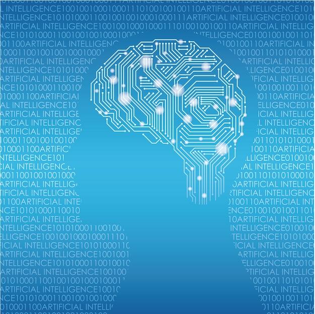Conceito de inteligência artificial