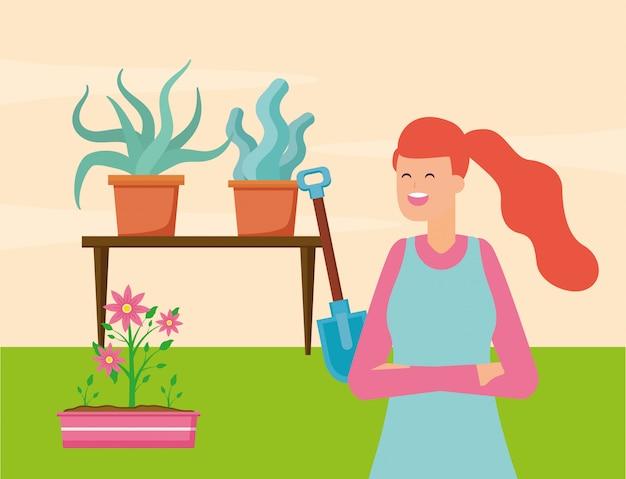 Conceito de jardinagem
