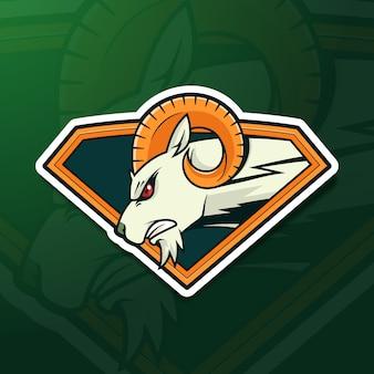 Conceito de logotipo de mascote