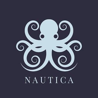 Conceito de logotipo de polvo