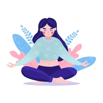 Conceito de meditação