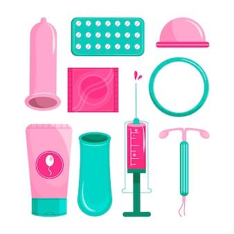 Conceito de métodos de contracepção