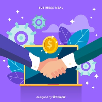 Conceito de negócio de plano de negócios