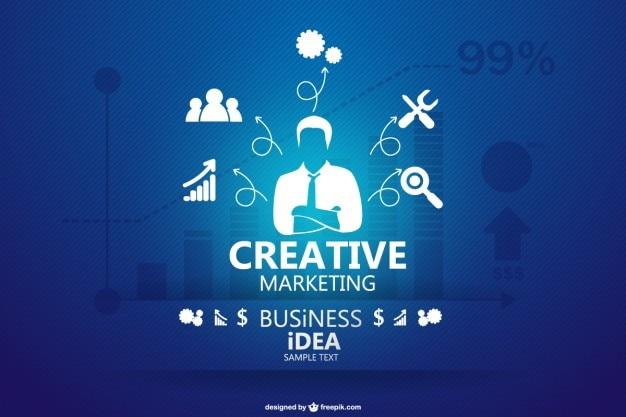 Conceito de negócio infograhic