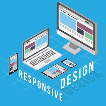 Conceito de negócio para Design Responsivo