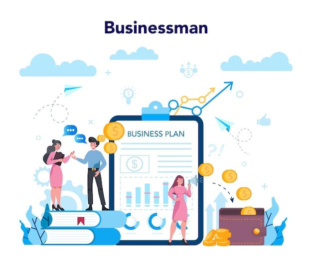 Conceito de negócios