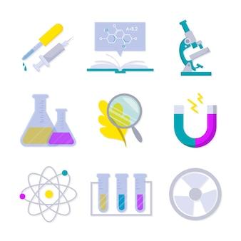 Conceito de objetos de laboratório de ciências