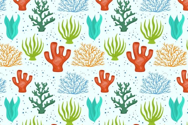 Conceito de padrão de coral