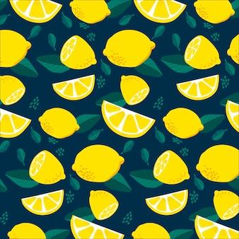 Conceito de padrão de frutas
