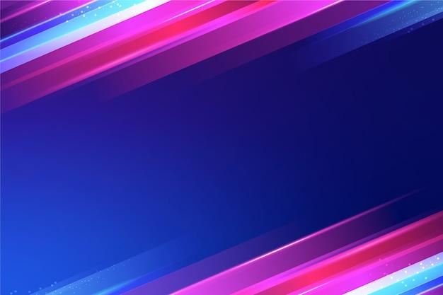Conceito de papel de parede de luzes de néon